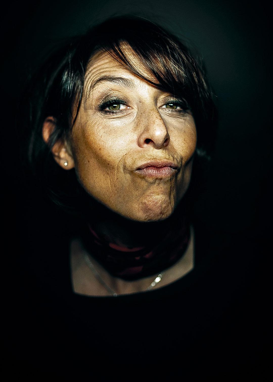Portrait de Sylvie Hazebroucq - L'oeil de Ken