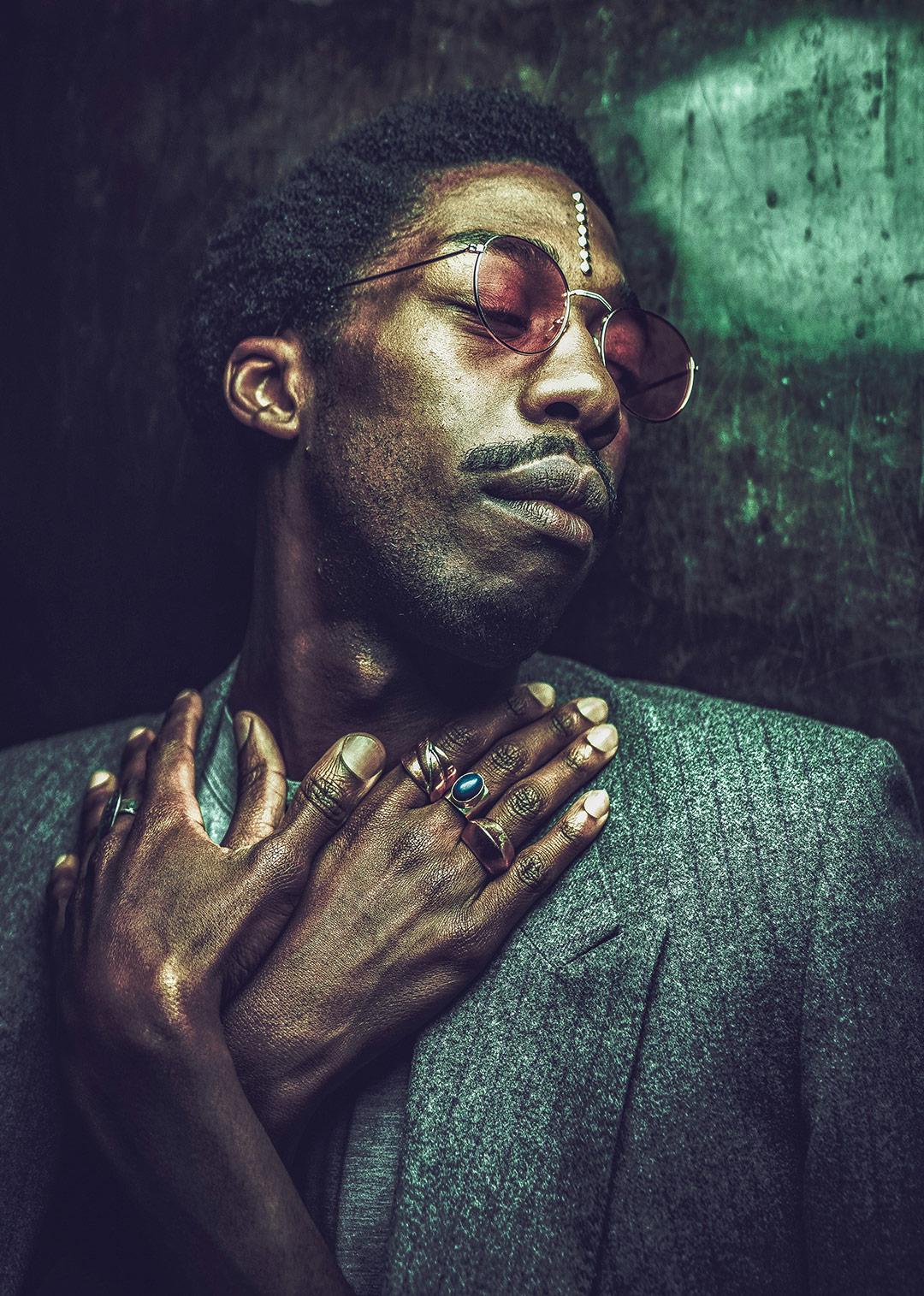 Portrait de Jorel - L'oeil de Ken