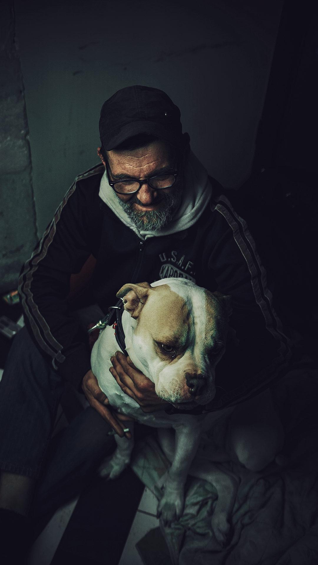 L'amitié ou Michel et sa chienne - Vivre dehors - 2019